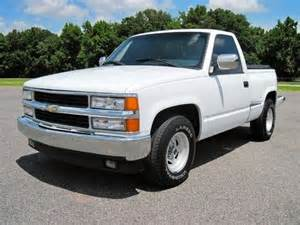 1996 Chevrolet Truck Find Used 1996 Chevy 1500 Regular Cab Stepside