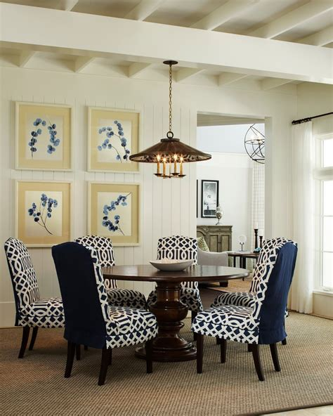 striped dining room chairs glorious navy blue and white striped fabric with dining