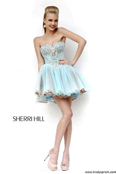 short hair sherri hill sherri hill short prom dresses trudys short prom dresses