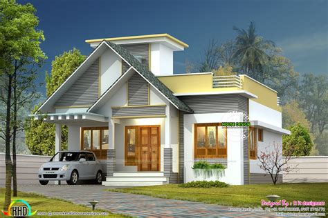 kerala home design with price 999 sq ft single floor home kerala home design and floor