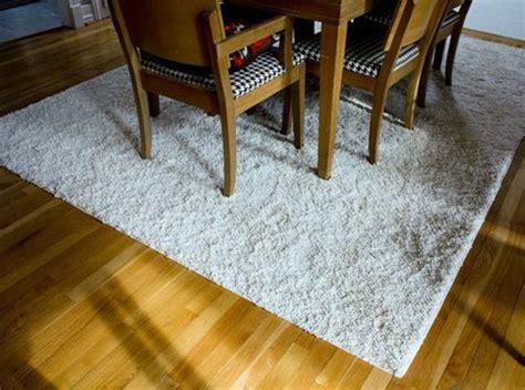 diy bind a carpet remnant to make a custom shaped area rug