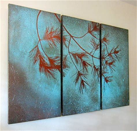 exles of copper patina artwork