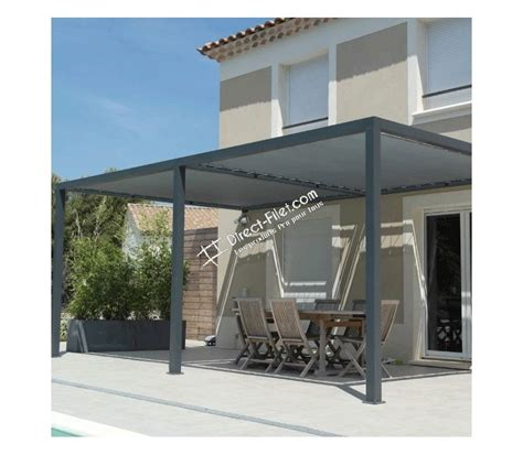 terrasse 4x4 toile d ombrage pergola carr 233 4x4 perm 233 able