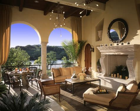 outside living rooms caslano outdoor living room mediterranean living room by susie johnson interior