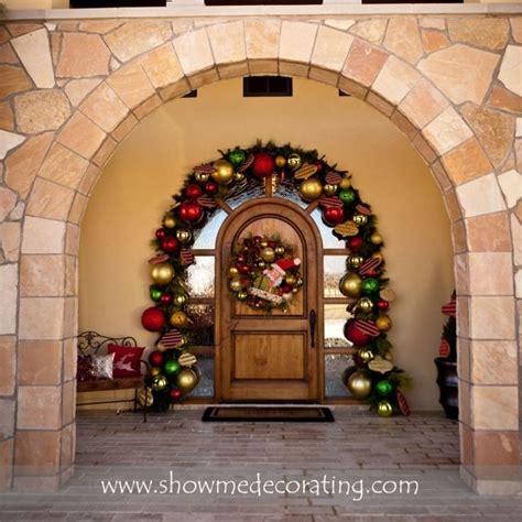 arch garland christmas decorating ideas reuse vintage current pinterest