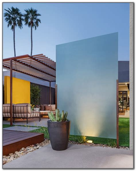 Outdoor Patio Privacy Screen Ideas by Outdoor Privacy Screen Ideas Plants Decks Home
