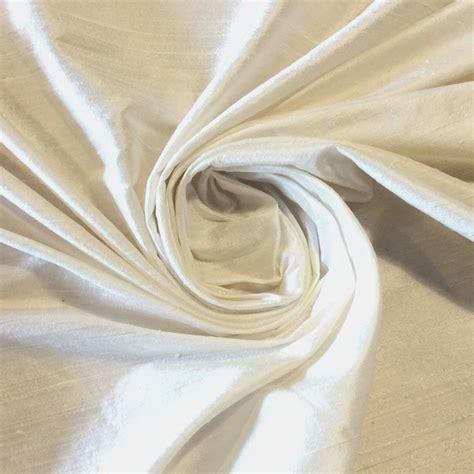 dupioni silk drapery fabric silk sh024 off white exquisite hand woven dupioni 100