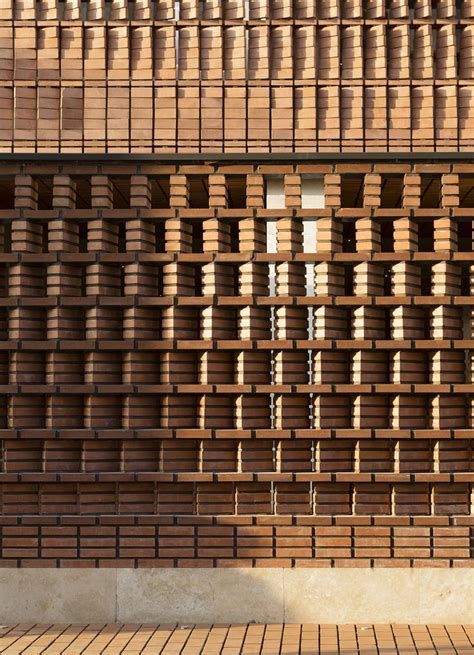 brick wall design 302 best perforated brick screen wall images on
