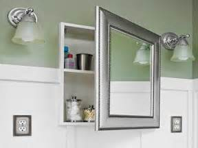 unique bathroom medicine cabinets with oval mirrors 49
