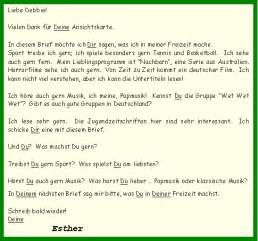Business Letter German Example Formal Letter Format German