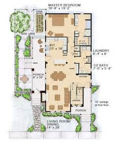 Country Cottage Floor Plans Floor Plan Of Bungalow Coastal Cottage Country Farmhouse Traditional House Plan 30501