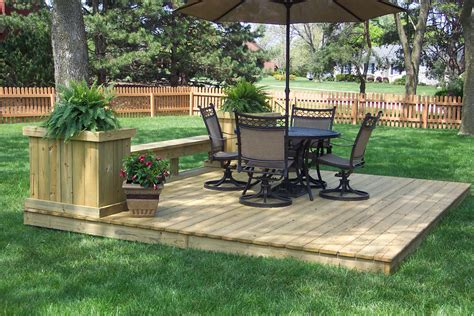 increase     outdoor space  ground level