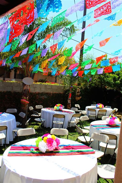 Mexican Themed Decoration Ideas by Mexican Theme Paper Flowers Mexican