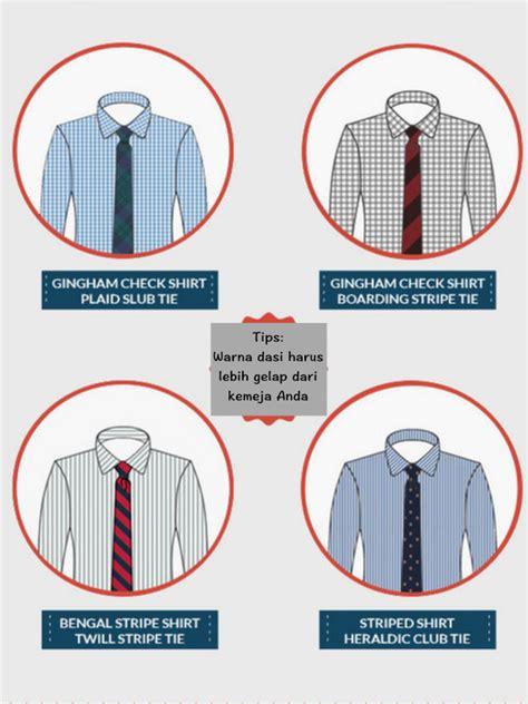 Kemeja Dasi Batik tips memadukan dasi dan kemeja bermotif lifestyle