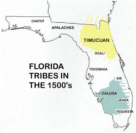 florida indian reservations map florida of the indians