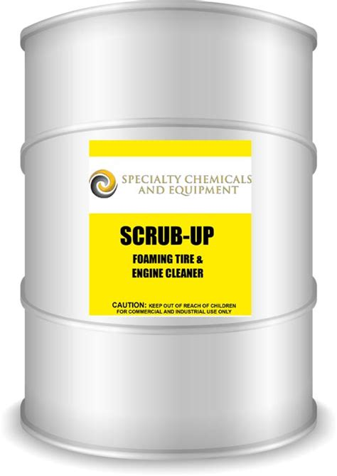 Scrub Up scrub up foaming tire and engine cleaner specialty