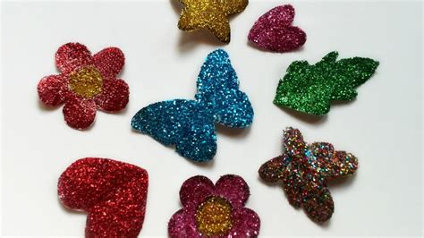 How To Make Glitter Stay On Paper - make sparkly glitter stickers diy crafts guidecentral
