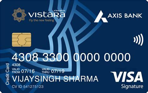 Axis Bank Gift Card - axis bank vistara signature credit card review