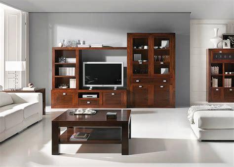 muebles de salon comedor en madera de nogal images