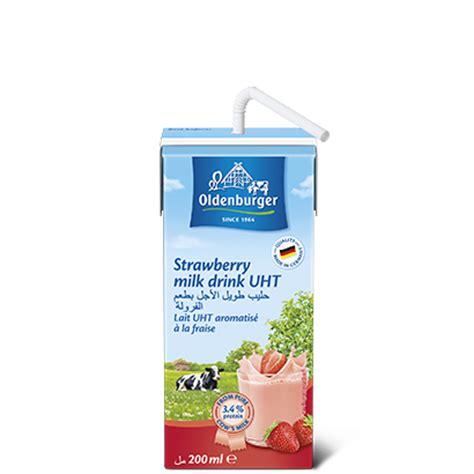 Ultra Low Hi Calcium 200ml oldenburger strawberry milk drink uht 200ml