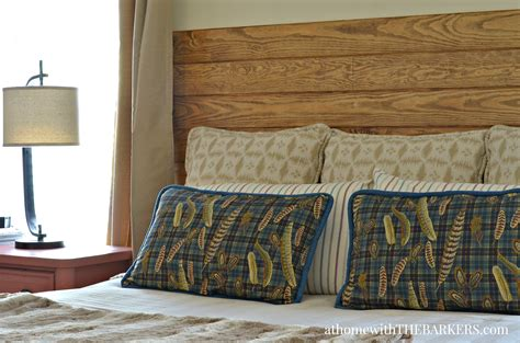 master bedroom headboard diy headboard at home with the barkers