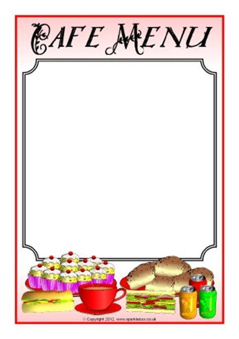 Wedding Clip Ks2 by Menu Writing Frames And Printable Page Borders Ks1 Ks2