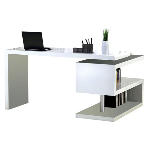 contemporary white desks modern desks atkinson desk bookcase eurway modern