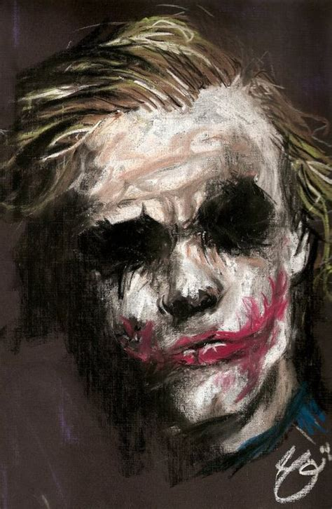 joker painting joker painting heath ledger design