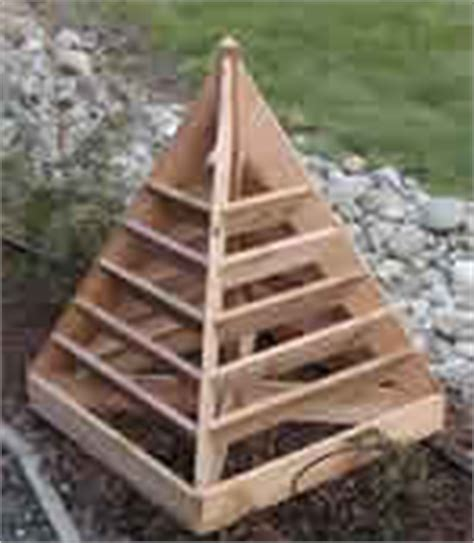 Strawberry Pyramid Planter Plans by How To Make Strawberry Planters 4 Free Plans