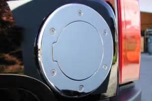 ami locking gas cap chrome fuel door locking fuel door
