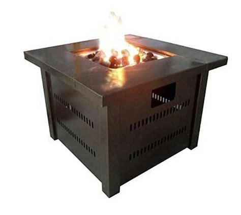 outdoor furniture with pit table patio pit outdoor fireplace deck gas propane heater table furniture stove pits