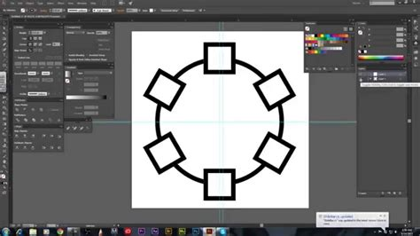 illustrator tutorial rotation adobe illustrator cc tutorial how to use the rotate tool