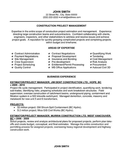 Project Manager Resume Templates by Pin By Marci Ward On Husband Project Manager