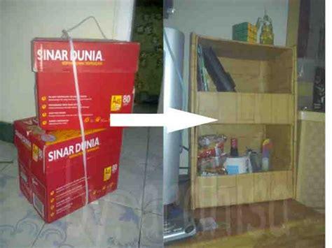 membuat rak mainan dari barang bekas membuat lemari dari kardus bekas oleh ar dhisa