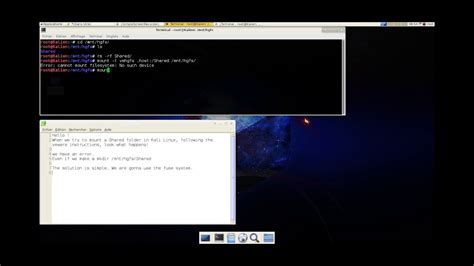 kali linux tutorial install kali on a vm youtube kali linux mount a vmware share folder youtube