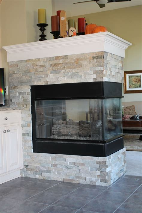 gas kamin surround new gas fireplace with custom slate surround house
