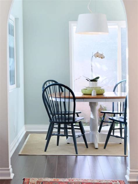 Light Blue Dining Room by Home Design Interior Monnie Light Blue Painted Rooms