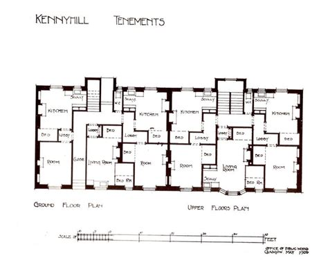 the best 28 images of tenement floor plan pencil stubs