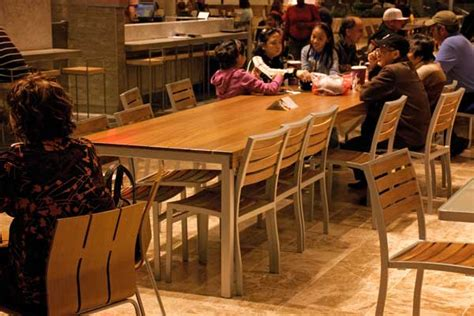 food court table design roseville mall food court tables by miesner design