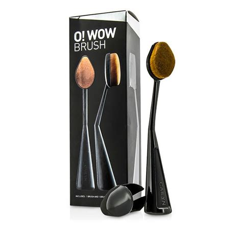 Cailyn O Wow Brush Cailyn Oval Brush cailyn new zealand o wow brush with brush cap by cailyn fresh