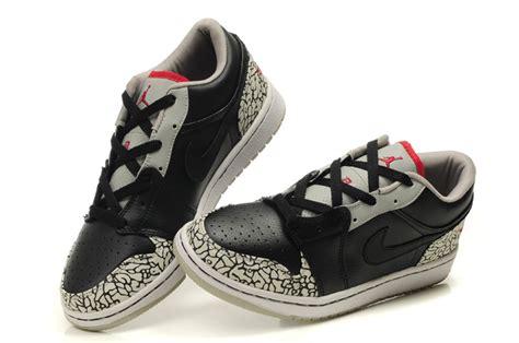 cement shoes authentic air 1 low black grey cement shoes on sale