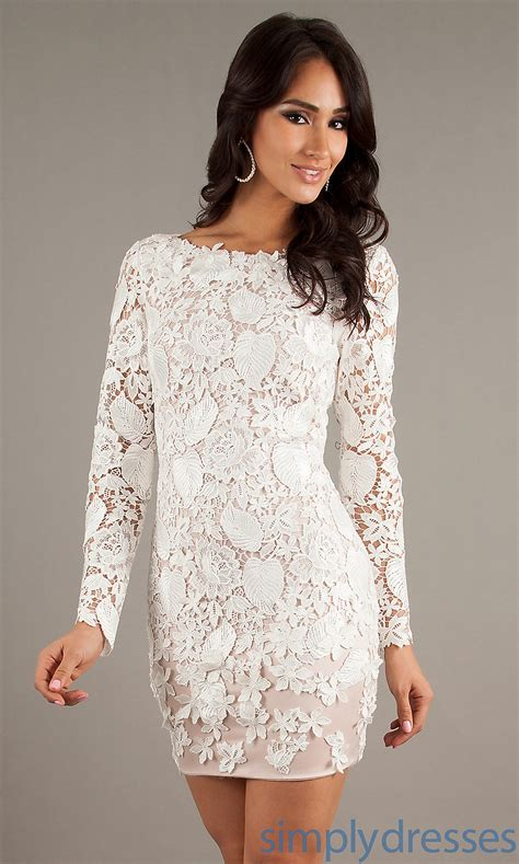 White Lace Dress white lace prom dress