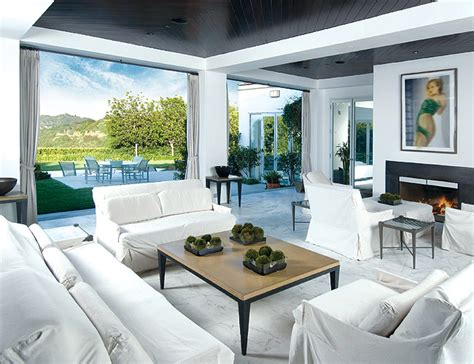 celebrity homes interior design beverly hills residence for celebrities digsdigs