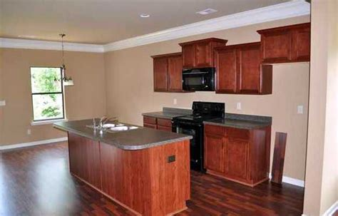 Laminate Flooring With Cabinets by Everyone The Kitchen With The Stained Cabinets
