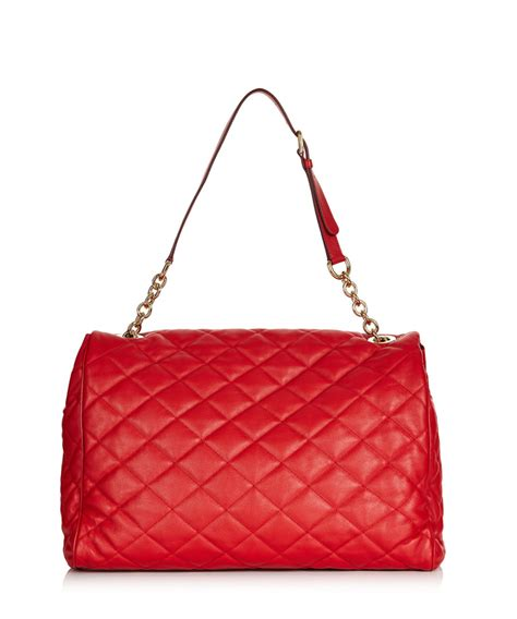 Dolce And Gabbana Quilted Leather Purse by Dolce Gabbana Quilted Leather Shoulder Bag Designer