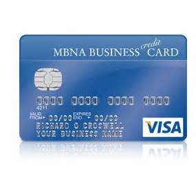 credit cards for businesses with no credit mbna small business credit card review