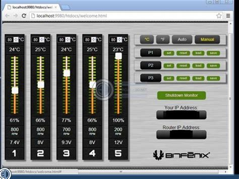 fan speed control software bitfenix recon fan controller review software and