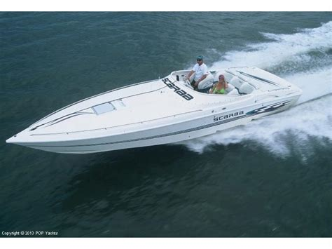scarab speed boats for sale scarab 33 avs in florida speedboats used 11015 inautia
