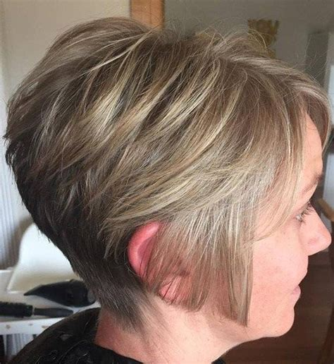 cutting a stacked angled bob 40 short bob hairstyles layered stacked wavy and angled