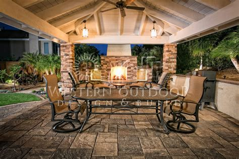outdoor design outdoor living room with fireplaces gallery western